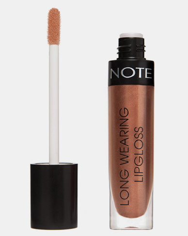 Note Cosmetics Long Wearing Lipgloss 24 Bronze Code