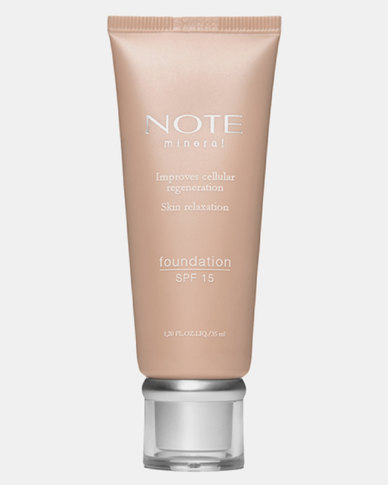 Note Cosmetics Mineral Foundation 403