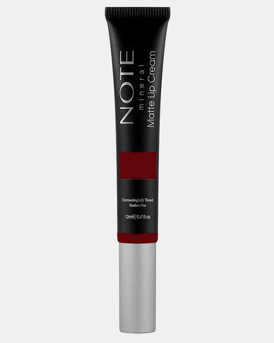 Note Cosmetics Mineral Matte Lip Cream 07 Brownight