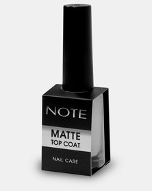 Note Cosmetics Matte Top Coat Clear