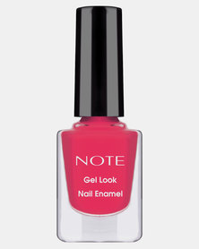 Note Cosmetics Gel Look Nail Enamel 12 Hot Pink