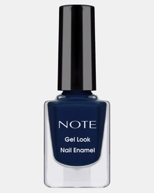 Note Cosmetics Gel Look Nail Enamel 21 Navy Blue