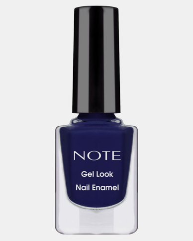 Note Cosmetics Gel Look Nail Enamel 22 Twilihgt Blue