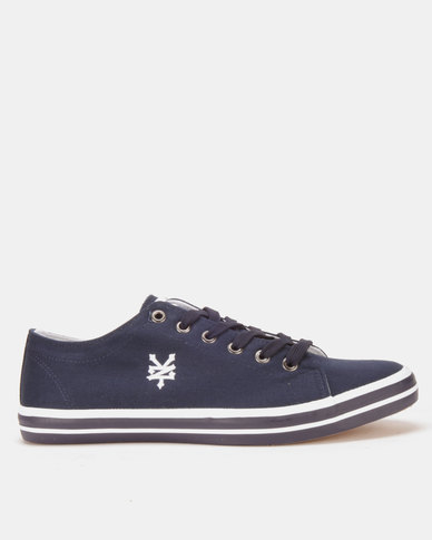 Zoo York Basic Striped Outsole Sneakers Navy