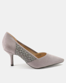 Queue Courts With Lace Insert Grey