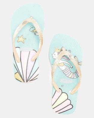 e18fa976c Chilloes Mermaid Flip Flops Multi