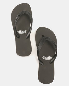 Chilloes Flip Flops Black