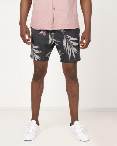 6ad8dc4ad5 Billabong Sundays Layback Boardshorts Black Floral | Zando
