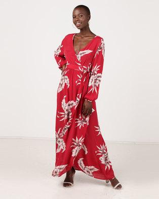 ce28351b4 Kauai Maxi Dress Scarlet | Zando