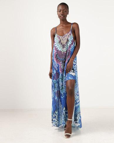 I Am Woman Trina Dress Blue
