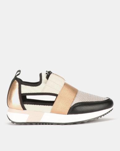 ccbe052265b Steve Madden Artic Sneakers Rose Gold