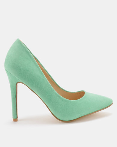 Utopia Microfibre Pointy Courts Green