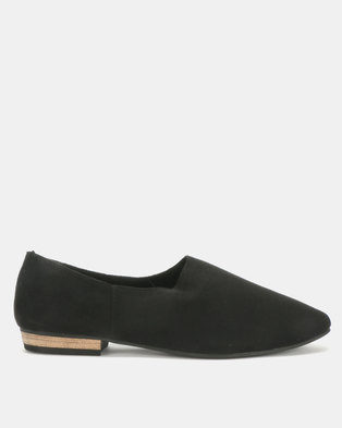 Utopia Softee Slip On Shoe Black