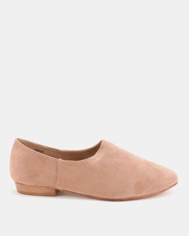 Utopia Softee Slip On Shoes Pink