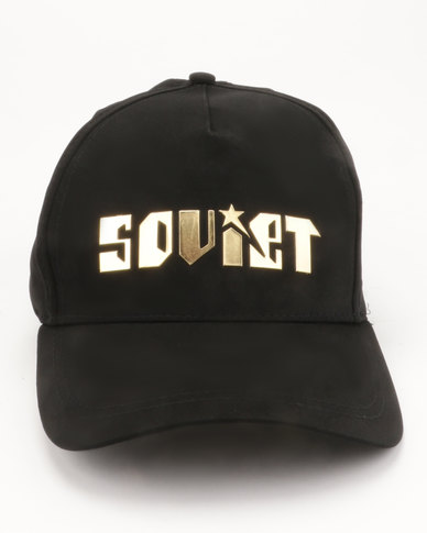 Soviet Titanic Sport Cap Black and Gold