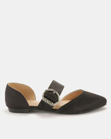 Utopia Mary Jane Pumps Black