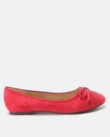 Utopia Bow Trim Pump Red