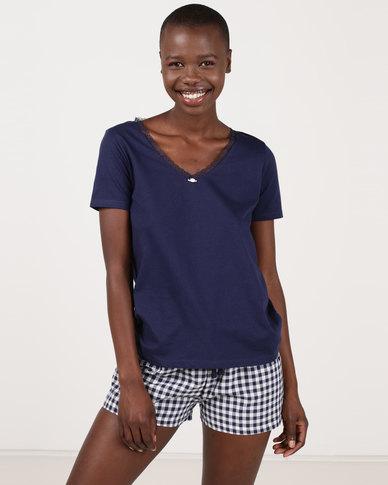 b2984ac1e3 Women secret Feminine Pajamas Blue