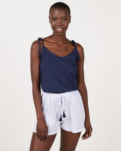 d32d8b03df Women secret Feminine Pajamas Blue