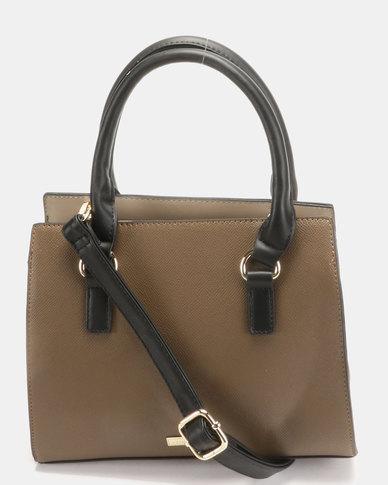 Call It Spring Senaria Handbag Khaki  acb73cc2afed9