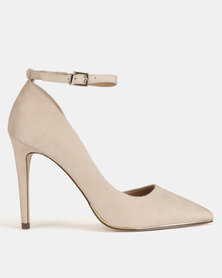 Call It Spring Exerina High Heel Shoes Bone