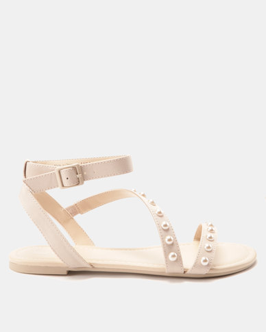 1308e2a99ff4 Call It Spring Thewet Flat Sandals Bone
