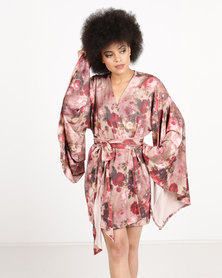 Papushka Flor Cover Up Pink
