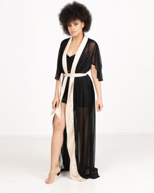 Papushka Amor Gown Black