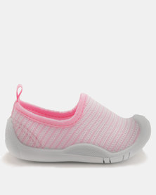Bubblegummers Infants Closed Shoes Pink