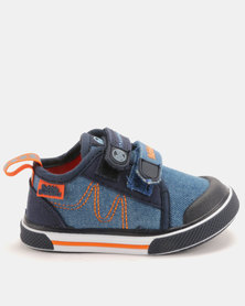 Bubblegummers Infants Closed Shoes Denim/Navy