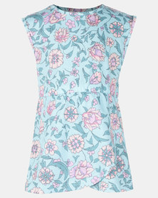 Rip Curl Mini Summerland Dress Aqua