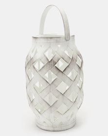 Pamper Hamper  LED Lantern White