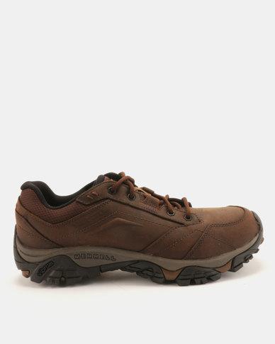 7a8e8e7922 Merrell Moab Adventure Lace Hiking Shoes Brown