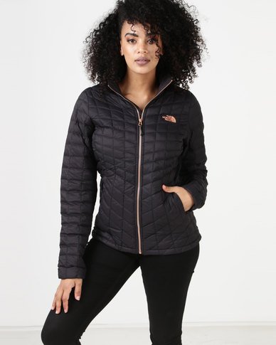 cd98155eb2f3 The North Face Thermoball Full Zip Jacket Black Metallic Copper