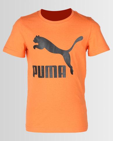 5386511b6e0c Puma Boys Classic Tee Orange