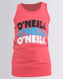 O'Neill Boys Packed Vest Red