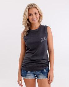 Fox Boltergeist Muscle T-Shirt Pirate Black