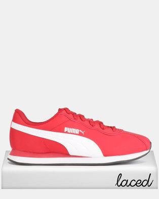Puma Sportstyle Core Turin II NL Sneakers Ribbon Red White 8c88ce970