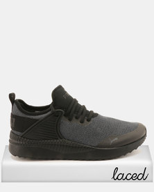 Puma Sportstyle Core Pacer Next Cage Knit Sneakers Black
