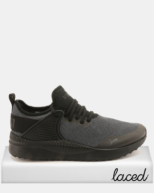 12994ec0ac Puma Sportstyle Core Pacer Next Cage Knit Sneakers Black