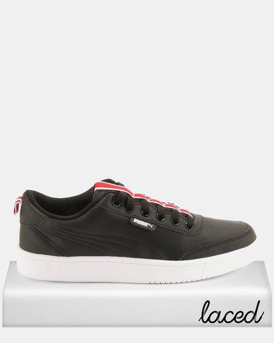 magasin en ligne 5e41b 43e4e Puma Court Breaker Flag Sneakers Black