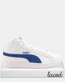 Puma Smash V2 Mid L Sneakers White/Sodalite