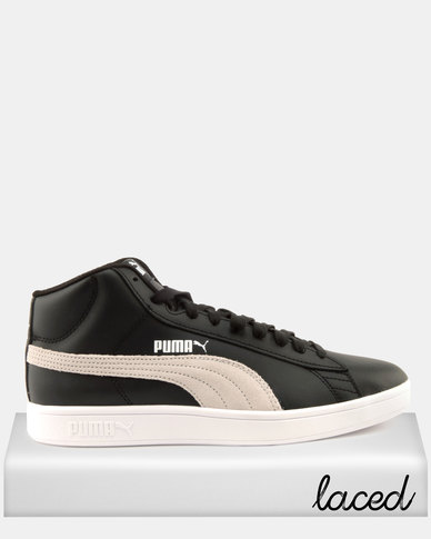 Puma Sportstyle Core Smash v2 Mid L Sneakers Black/White
