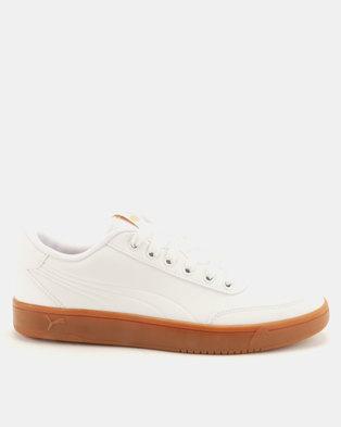 34ccb1623f Puma Sportstyle Core Court Breaker L Mono Sneakers White