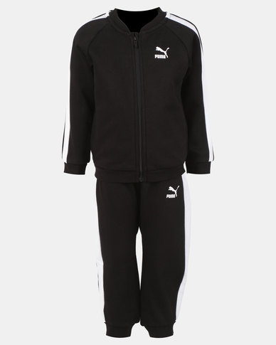 5341788821 Puma Mini Me Prime T7 Crew Jogger Set Black