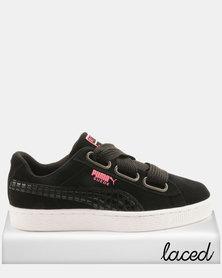 Puma Sportstyle Prime Suede Heart Street 2 Sneakers Black