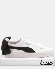 Puma Sportstyle Prime Basket Bow SB Wns Sneakers White/Black