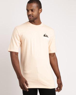 a964cde0362b41 Quiksilver Good Bad T-Shirt Peach Parfait