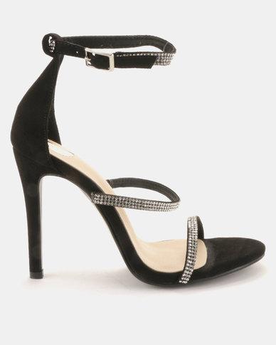 Footwork Finley Heels Black