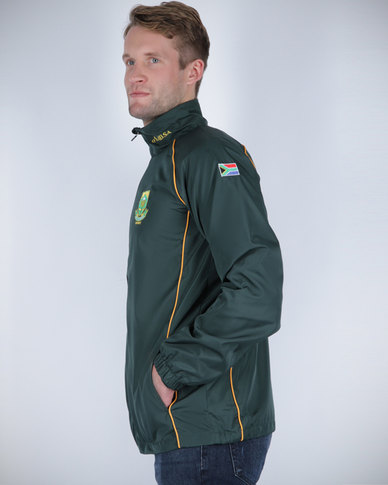 Canterbury Springbok Training Jacket Green